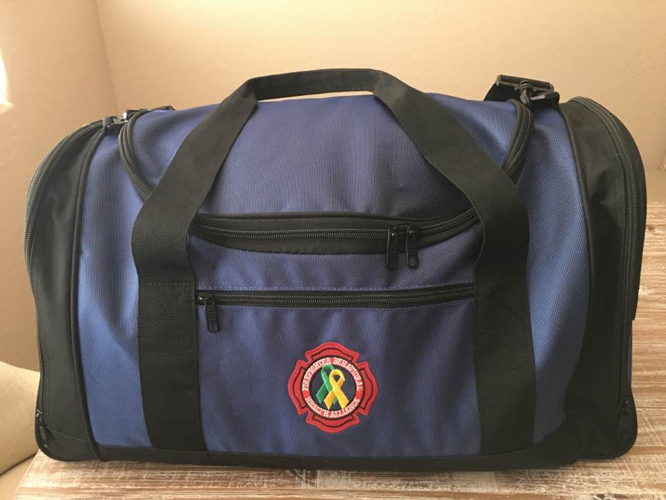 Embroidered Port Authority Voyager Sports Duffel